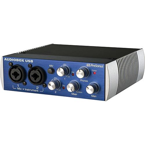 PreSonus AudioBox USB Interface Recording Bundle