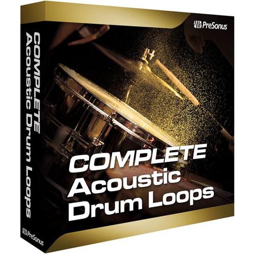 PreSonus Complete Acoustic Drum Loops (Download)