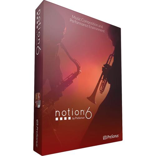 PreSonus Notion 6 Educational - Notation Software (Download)