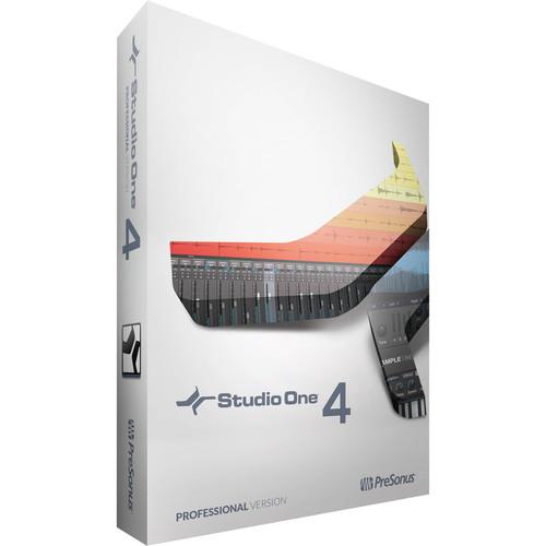 PreSonus Studio One 4 Professional - Upgrade - Audio and MIDI Recording/Editing Software (Educational, Unlimited Seats, Download)
