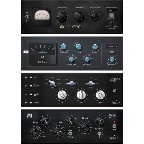 PreSonus Classic Studio Bundle - Fat Channel Compressor and EQ Plug-Ins (Download)