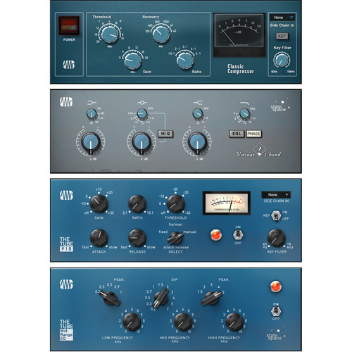 PreSonus Vintage Channel Strips Bundle - Fat Channel Compressor and EQ Plug-Ins (Download)