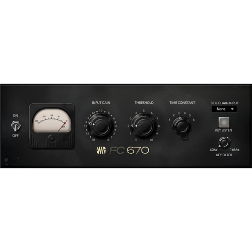 PreSonus FC-670 Compressor - Fat Channel Compressor Plug-In (Download)