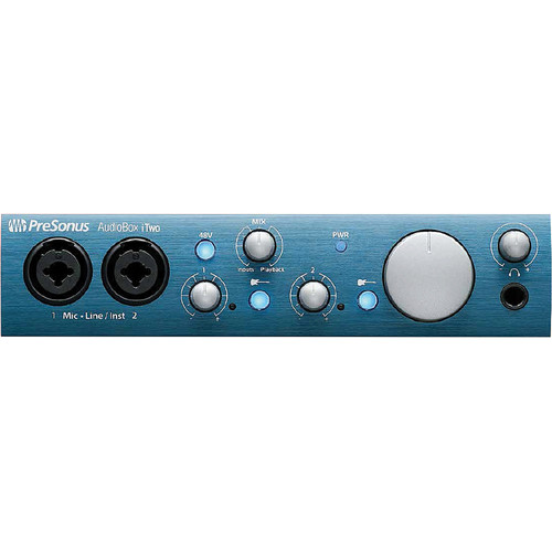 PreSonus iTwo Studio Kit with MXL Microphone