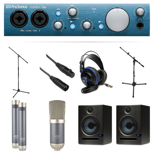 PreSonus iTwo Studio Kit with MXL Vocal and Instrumental Microphones