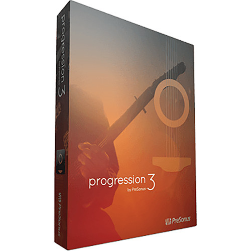 PreSonus Progression 3 - Composition, Notation, Editing Software (Download)