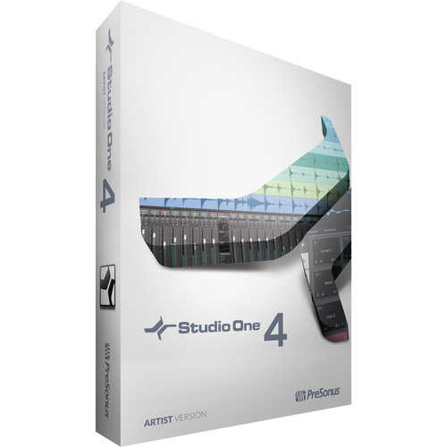 PreSonus Studio One 4 Artist - Upgrade from Artist - Audio and MIDI Recording/Editing Software (Download)