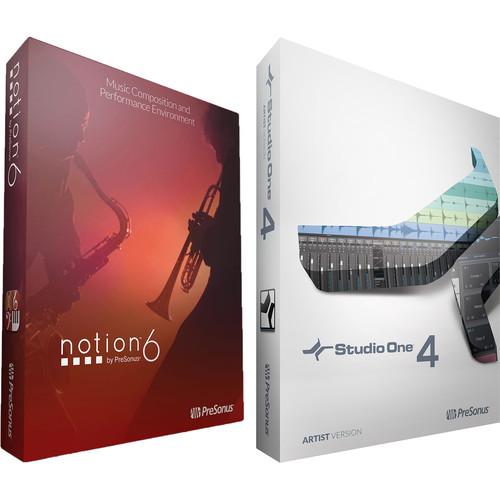 PreSonus Artist Bundle with Studio One 4 Artist and Notion 6 (Download)