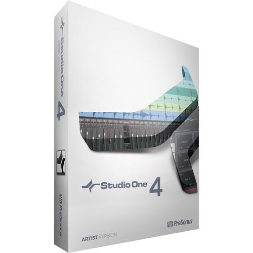 PreSonus Studio One 4 Artist - Audio and MIDI Recording/Editing Software (Activation Card)