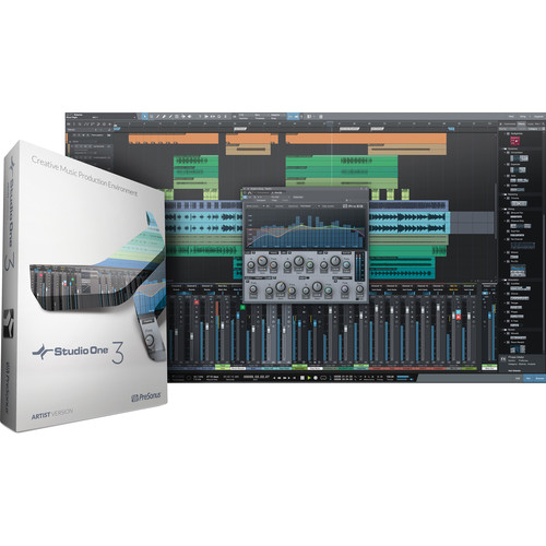 PreSonus Studio One Artist 3 Upgrade - Audio and MIDI Recording/Editing Software (Download)