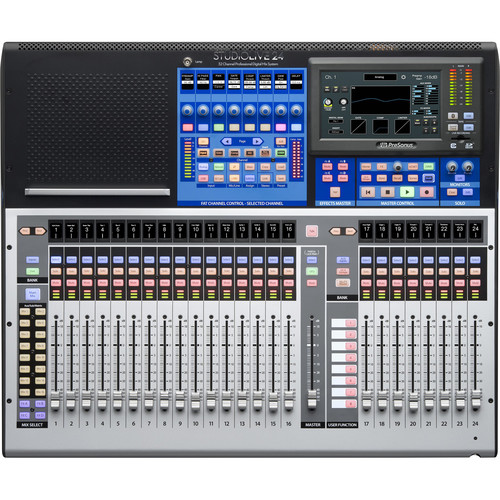 PreSonus StudioLive 24 Series III Digital Mixer - 32-Input with 25 Motorized Faders