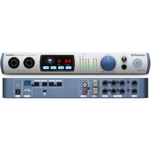 PreSonus Studio 192 Mobile Audio Interface/Studio Command Center
