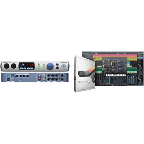 PreSonus Studio 192 Mobile USB 3.0 Interface with Studio One Pro Software