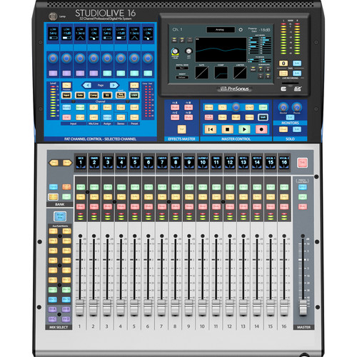 PreSonus StudioLive 16 Series III Digital Mixer - 16-Input with Motorized Faders