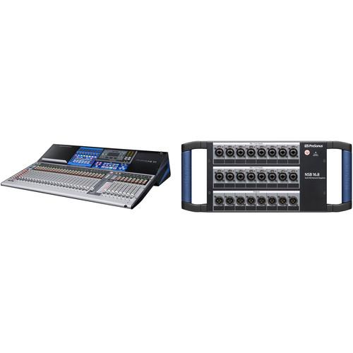 PreSonus StudioLive 32 Series III Digital Mixer and 16x8 Stage Box Kit