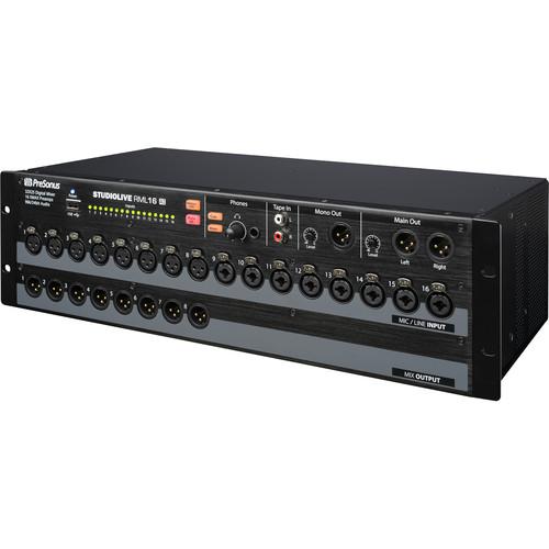 PreSonus StudioLive RML16AI 16-Input Rackmount Digital Mixing System