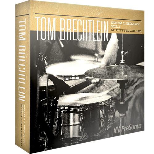 PreSonus Tom Brechtlein Drums Vol. 1 - HD Multitrack (Download)