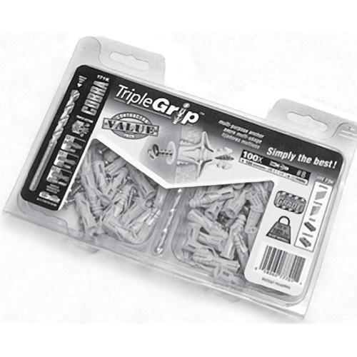 Primacoustic Impaler Wall Anchor Kit (100 Pieces)