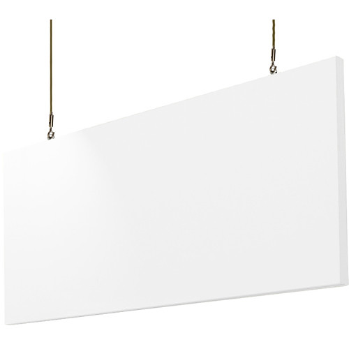 """Primacoustic Hanging Baffle with Corkscrew Anchors (24"""" x 48"""" x 1.5"""") (White)"""