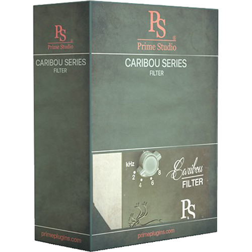 Prime Studio Caribou Series Filter Plug-In Software (Download)