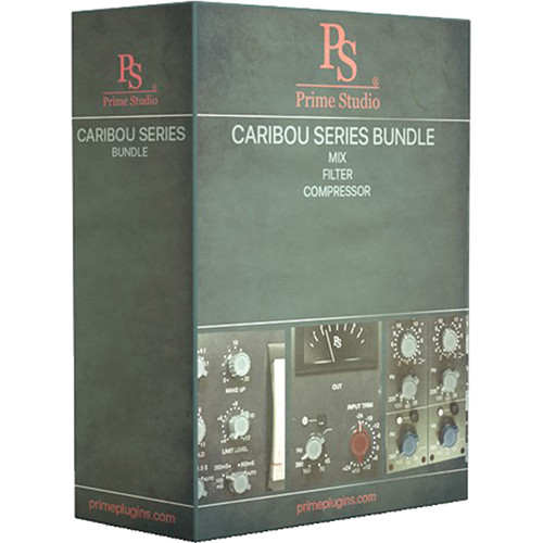 Prime Studio Caribou Series Compressor, Filter, Mix, Plug-In Bundle (Download)