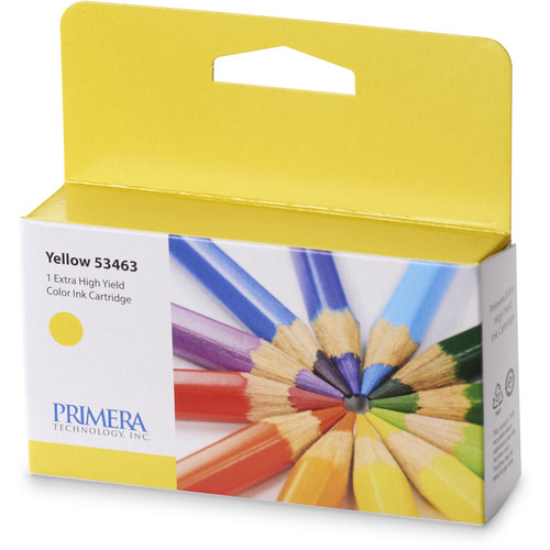 Primera Yellow Ink Cartridge for LX2000 Color Label Printer