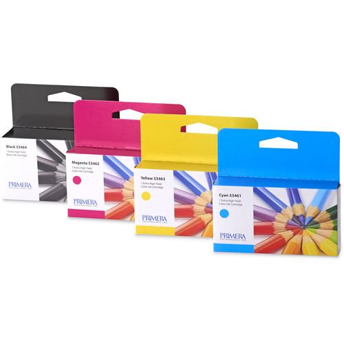 Primera Multi-Pack of Ink Cartridges for LX2000 Color Label Printer