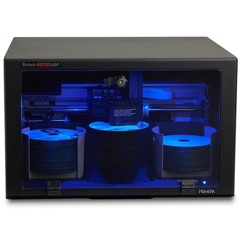 Primera Bravo 4202 XRP DVD±/CD-R Disc Duplicator (2-Drives)