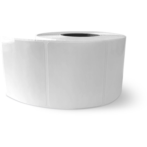 """Primera 3 x 2.5"""" Rectangle Premium Gloss Paper Roll for LX400 and LX500 (825 Labels per Roll)"""