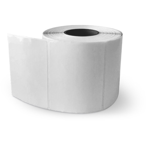 """Primera 4 x 3"""" Rectangle Premium Gloss Paper Roll with LX400 and LX500 (700 Labels Per Roll)"""