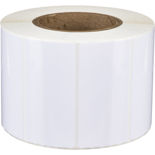 """Primera 4 x 2"""" Rectangle Premium Gloss Paper Roll for LX800/810, LX900/910, LX1000, and LX2000 (1300 Labels per Roll)"""