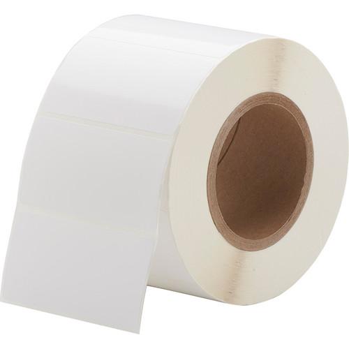 "Primera White TuffCoat High-Gloss Labels (4 x 2"", 1250 Labels)"
