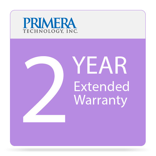 Primera 2-Year Warranty Extension for Bravo 4100 Printer