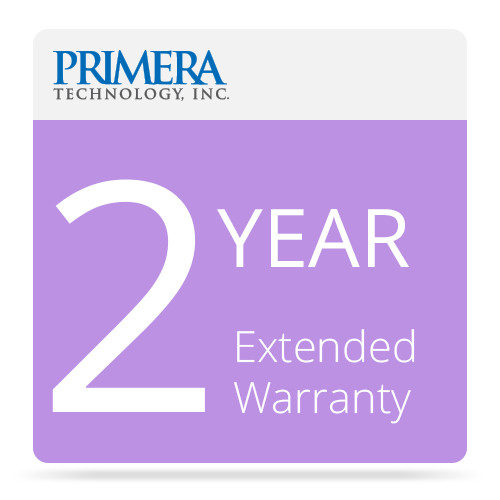 Primera 2-Year Extended Warranty for Bravo 4102 XRP Blu-Ray Publisher