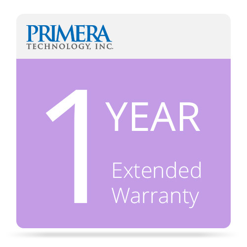 Primera 1-Year Extended Warranty for AP550 Flat-Surface Label Printer Applicator