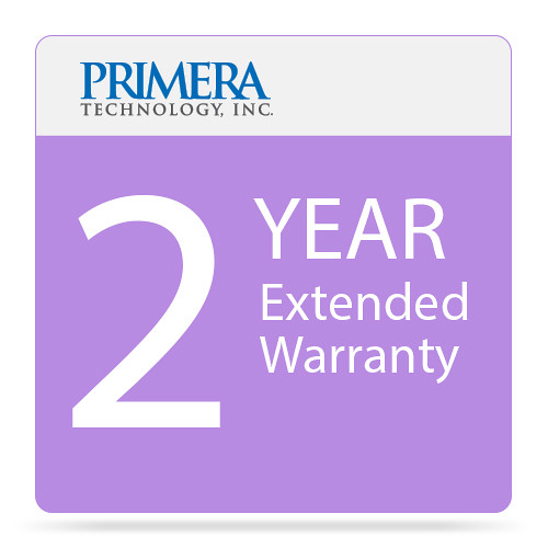 Primera 2-Year Extended Warranty for LX500 Color Label Printer with Cutter
