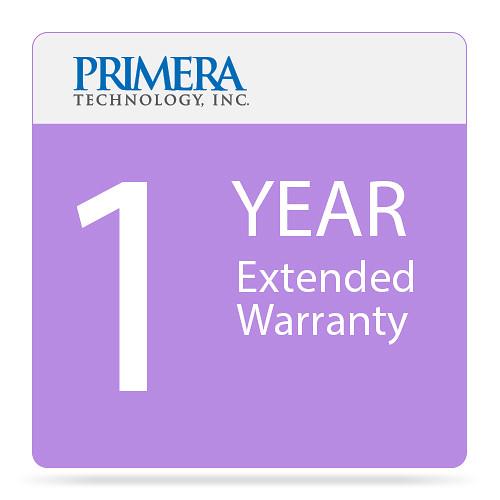 Primera 1-Year Warranty Extension for Bravo 4201 DVD Publisher
