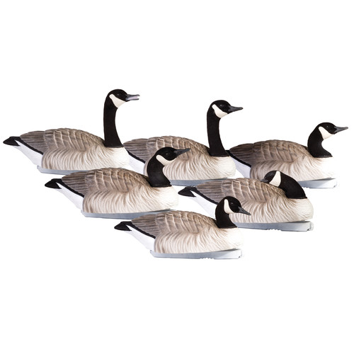 PRIMOS Final Approach HD Floating Honkers Waterfowl Decoys (6-Pack)