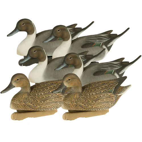PRIMOS Final Approach HD Floating Pintail Duck Decoys (6-Pack)