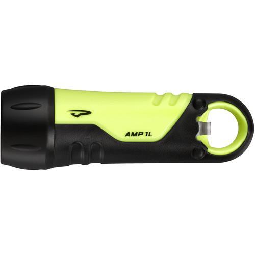 Princeton Tec Amp 1 LED Flashlight with Bottle Opener (Neon Yellow)