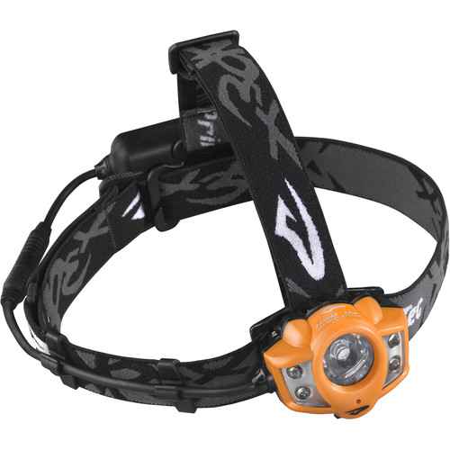 Princeton Tec Apex Rechargeable Headlamp (Orange)