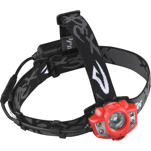 Princeton Tec Apex Rechargeable LED Head Lamp (Red)