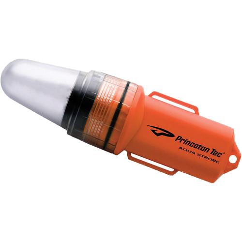 Princeton Tec Aqua Strobe LED Dive Light (Red)