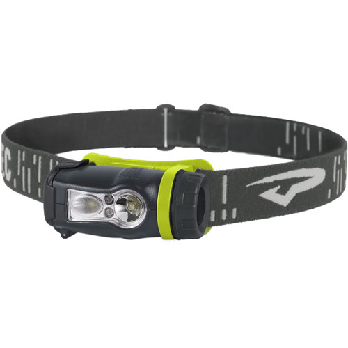 Princeton Tec Axis Rechargeable LED Head Lamp (Green/Gray)