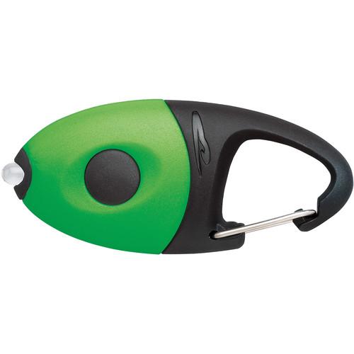 Princeton Tec Impulse Flashlight Carabiner Mini Light (Solid Green)