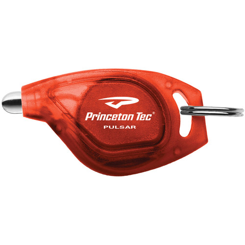 Princeton Tec Pulsar White LED Flashlight (Red)