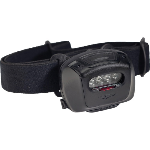 Princeton Tec Quad Tactical MPLS LED Headlamp (Black/Black)