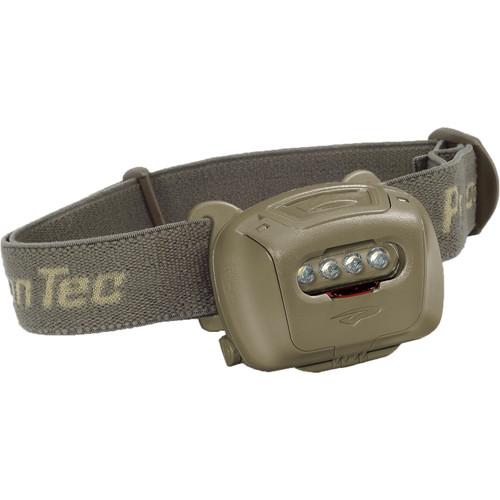 Princeton Tec Quad Tactical MPLS LED Headlamp (Olive/Olive)