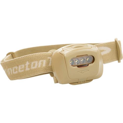 Princeton Tec Quad Tactical MPLS LED Headlamp (Tan/Tan)