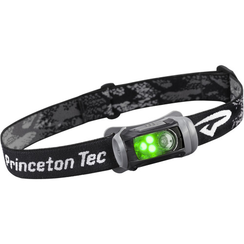 Princeton Tec Remix LED Headlamp with Green Flood Beam (Black)